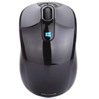 微软(Microsoft) Sculpt 无线便携蓝影鼠标 黑色 支持windows8系统哦 附带Nano 接收器,即