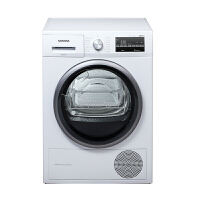 西门子(SIEMENS)热泵烘干 智能自清洁 干衣机9公斤(白色)高温烘干WT47W5601W