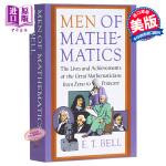 【中商原版】数学精英英文原版Men of Mathematics
