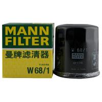 曼牌/MANN FILTER 机油滤清器 W68/1 长城精灵1.3 (07-)