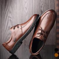 宜驰 EGCHI 商务休闲系带橡胶底时尚耐磨男鞋 K28612