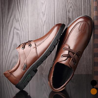 宜驰 EGCHI 商务休闲系带橡胶底时尚耐磨男鞋 K28612 冬季换靴潮,宜驰男鞋,有你所想!