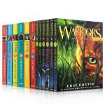 英文原版小说 猫武士首部曲 Warriors 1-6全套盒装+狗武士Survivors 6册套装【共12册】合售 英语
