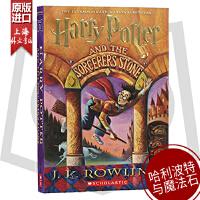 哈利波特与魔法石美国版英文原版 Harry Potter and the Sorcerer's Stone