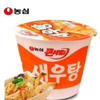 韩国进口食品 农心 虾汤大碗面115g碗