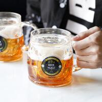 网红啤酒杯抖音同款假啤酒创意恶搞潮流假双层仿真冰镇学生水杯子