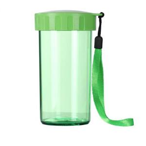 特百惠雅致随心杯310ml 夏季塑料随手杯学生便携简约创意运动儿童水杯香瓜绿