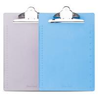 广博(GuangBo)A4优质PS书写板夹/文件夹板带刻度 蝴蝶夹颜色随机 单个装WJ6103