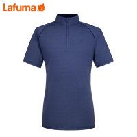LAFUMA 法国乐飞叶男士夏季户外登山徒步弹力快干短袖T恤LMTS7B504