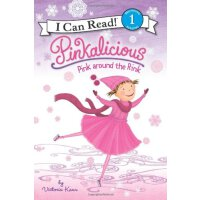 I Can Read Level 1 Pinkalicious Pink Around the Rink ISBN:9