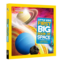 National Geographic 美国国家地理 儿童百科书 Little Kids First Big Book of Space 宇宙太空系列 少儿科普英文原版