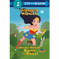 【预订】Wonder Woman Saves the Trees! (DC Super Heroes: Wonder W