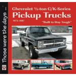 预订 Chevrolet Half-Ton C/K-Series Pickup Trucks 1973-1987: B