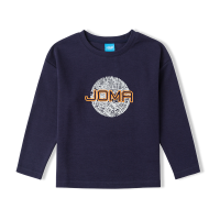 JOMA荷马男童长袖T恤衫中大男童新款休闲舒适运动上衣长袖T恤满200减40
