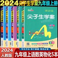 尖子生学案九年级下册语文数学英语物理化学5本套装人教版2020版