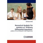 预订 Numerical Analysis for Solution of 'Ordinary Differentia