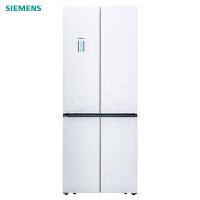 西门子(SIEMENS)BCD-452(KM46FS20TI 52升 玻璃门 变频 零度混冷 十字对开多门冰箱(白色)