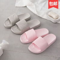 创意春夏浴室拖鞋女夏防滑室内情侣夏季凉拖鞋男家用居家沙滩鞋