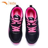 安踏童鞋2018春新款正品女童运动鞋儿童时尚跑步鞋32745520