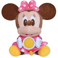 【当当自营】迪士尼毛绒玩具 米妮毛绒公仔2号棒棒糖系列