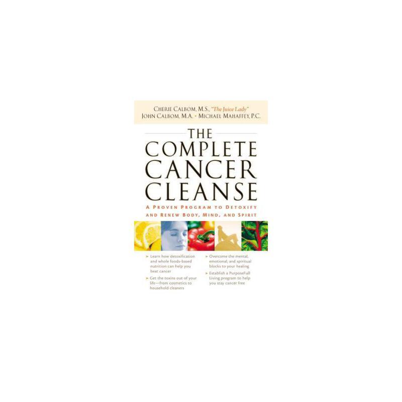 【预订】The Complete Cancer Cleanse: A Proven Program to Detoxify and Renew Body, Mind, and Spirit 预订商品,需要1-3个月发货,非质量问题不接受退换货。