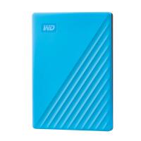 西部数据(WD)2TB USB3.0移动硬盘My Passport随行版 2.5英寸 黑色