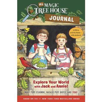 【预订】My Magic Tree House Journal  Explore Your World with Jack and Annie! A Fill-In Activity Book with Stickers!