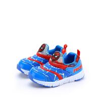 【99元任选3双】迪士尼童鞋男童秋季休闲运动鞋毛毛虫舒适 Q00158