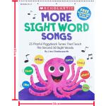 MORE Sight Word Songs 学乐儿童启蒙学习教学地板书 活动挂图 韵文童谣歌曲 英文原版