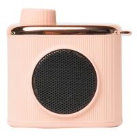 马克图布相机造型记忆小音箱USB迷你充电便携小巧复古创意礼品520情人节生日礼物送女生女友老婆 REMEMBERM粉色