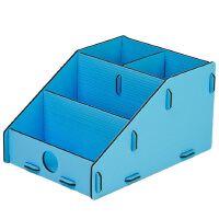 树德文具i-desk U5202L 办公桌面收纳 化妆盒 桌面收纳盒