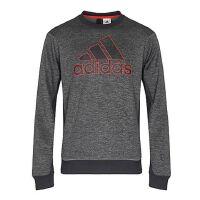 adidas阿迪达斯2018男子舒适休闲长袖圆领针织套衫BQ4745