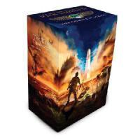 英文原版 埃及守护神3册套装 The Kane Chronicles Box Set 波西・杰克逊作者Rick Rior