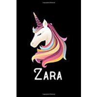 预订 Zara: Personalized Custom Name Unicorn Themed Monthly 20