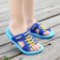 儿童拖鞋夏季男童拖鞋宝宝儿童洞洞鞋女童小孩凉拖鞋防滑浴室拖鞋