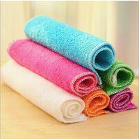 竹纤维洗碗巾不沾油清洁抹布洗碗布