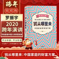钱从哪里来:中国家庭的财富方案 香帅 著 罗振宇跨年推荐 普通家庭的财富方案中国优势 中国经济书籍普通家庭理财方案