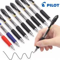 日本PILOT百乐中性笔BL-G2-5 财务办公走珠笔签字笔G2学生按动�ㄠ�笔黑色水