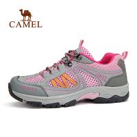 CAMEL骆驼户外女款徒步鞋 春夏透气徒步运动鞋