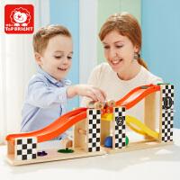 【1件6折 2件5折】特宝儿轨道车小汽车儿童玩具男孩1一2岁男宝宝益智套装玩具车模型