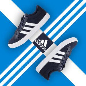 adidas阿迪达斯男子 三条杠 低帮潮流板鞋休闲运动篮球鞋AW3891