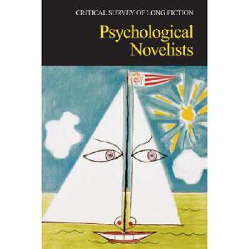【预订】Psychological Novelists 美国库房发货,通常付款后3-5周到货!