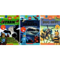 LEGO Nonfiction 乐高科普之旅 Adventure in the Real World 6册 小学生课外