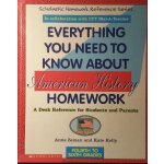 预定原版 Everything You Need to Know About American History Hom