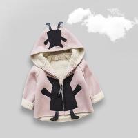 ??儿童秋冬装宝宝外套男加厚婴儿衣服女童棉衣加绒1一3岁潮韩版洋气