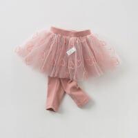[3折价:86.1]戴维贝拉2019春季新款女童裤子宝宝打底裙裤DBZ10102-2