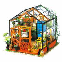 若态3D立体拼图拼装模型手工DIY小屋生日礼物女生创意凯西花房
