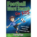 预订 Football Word Search for Kids: 2017/18 Premier League Te