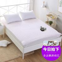 全棉床垫学生床褥子手工定做棉花垫被双人褥棉花被褥棉絮被芯纯棉