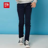 jjlkids季季乐童装女童牛仔裤新款潮中大童休闲小脚长裤GCK61049